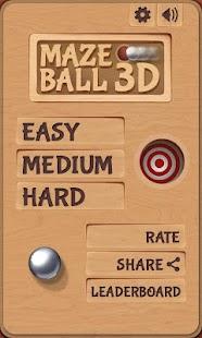 Maze Ball 3D 街機 App-癮科技App
