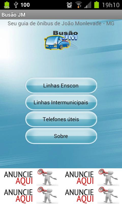 Busão JM - screenshot