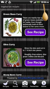 Sri Lankan Recipes- screenshot thumbnail