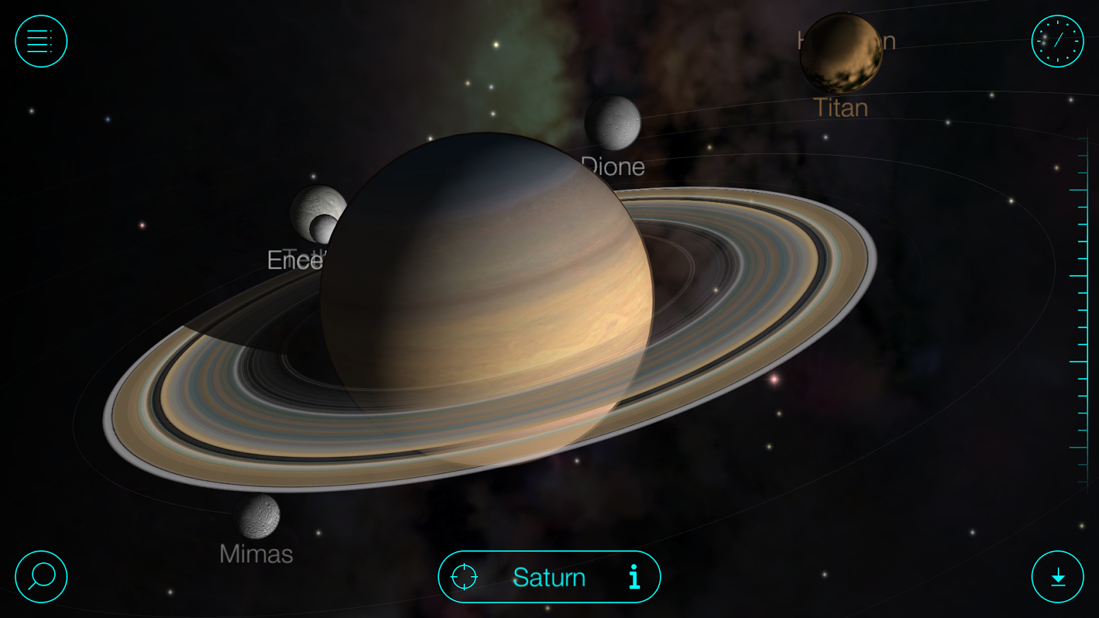 Solar Walk - Planets & Moons- screenshot