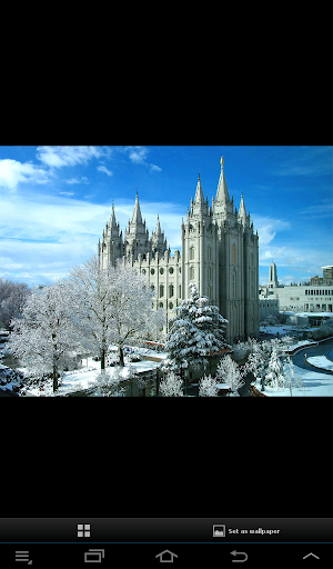 LDS Mormon Temple Wallpaper