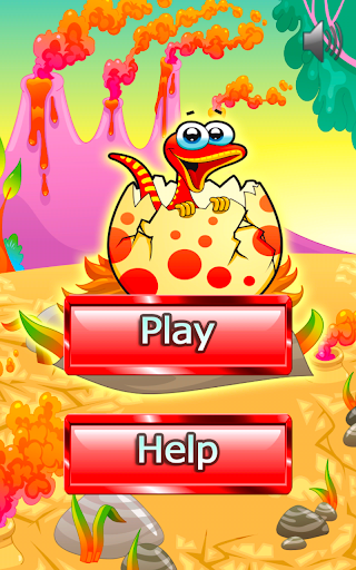 Dinosaur Puzzle Kids Saga Land