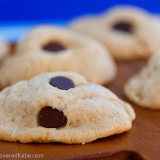 Chocolate Chip Cream Cheese Cookies.