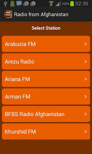 從阿富汗電台