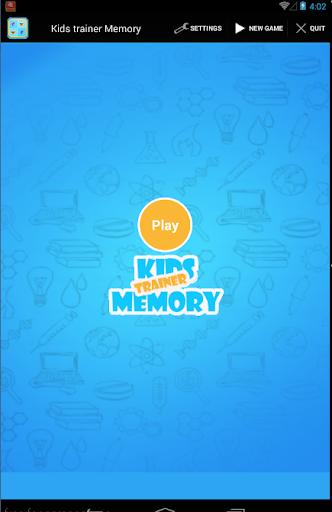 Kids Trainer Memory