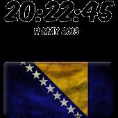 Bosnia and Herzegovina Clock