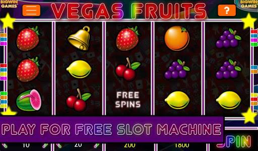 Vegas Fruits Free Slot Machine