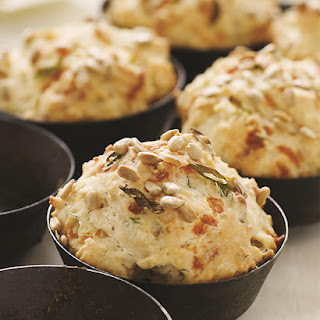 Cheddar Biscuits with Dill & Pumpkin Seeds
