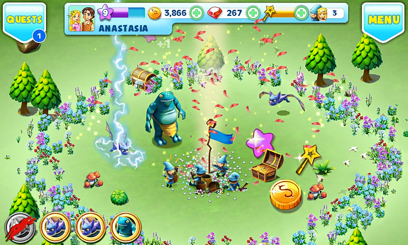 Fantasy Town - screenshot
