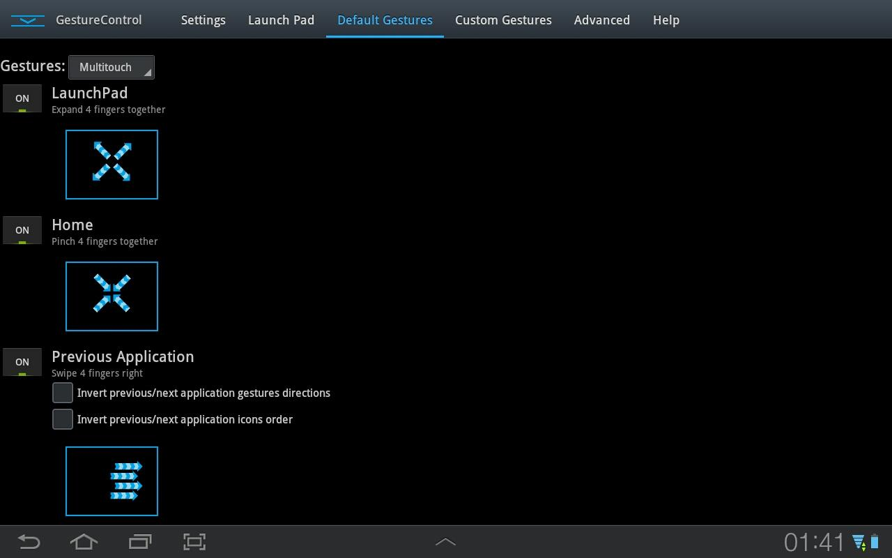 GMD GestureControl Lite ★ root - screenshot