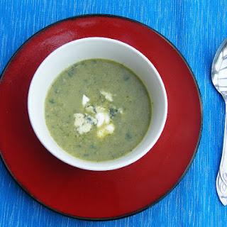 Gwyneth's Broccoli & Cheese Soup.