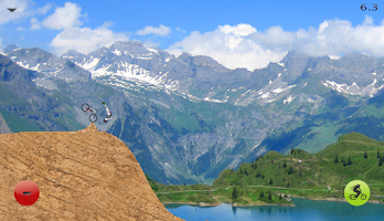 Screenshot of Downhill Champion Lite