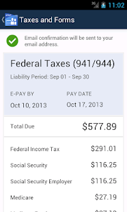 Online Payroll - screenshot thumbnail