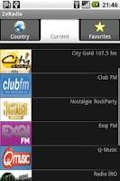 Screenshot of ZeRadio - Internet Radio