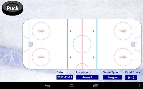 Blueline Stats for Hockey - screenshot thumbnail