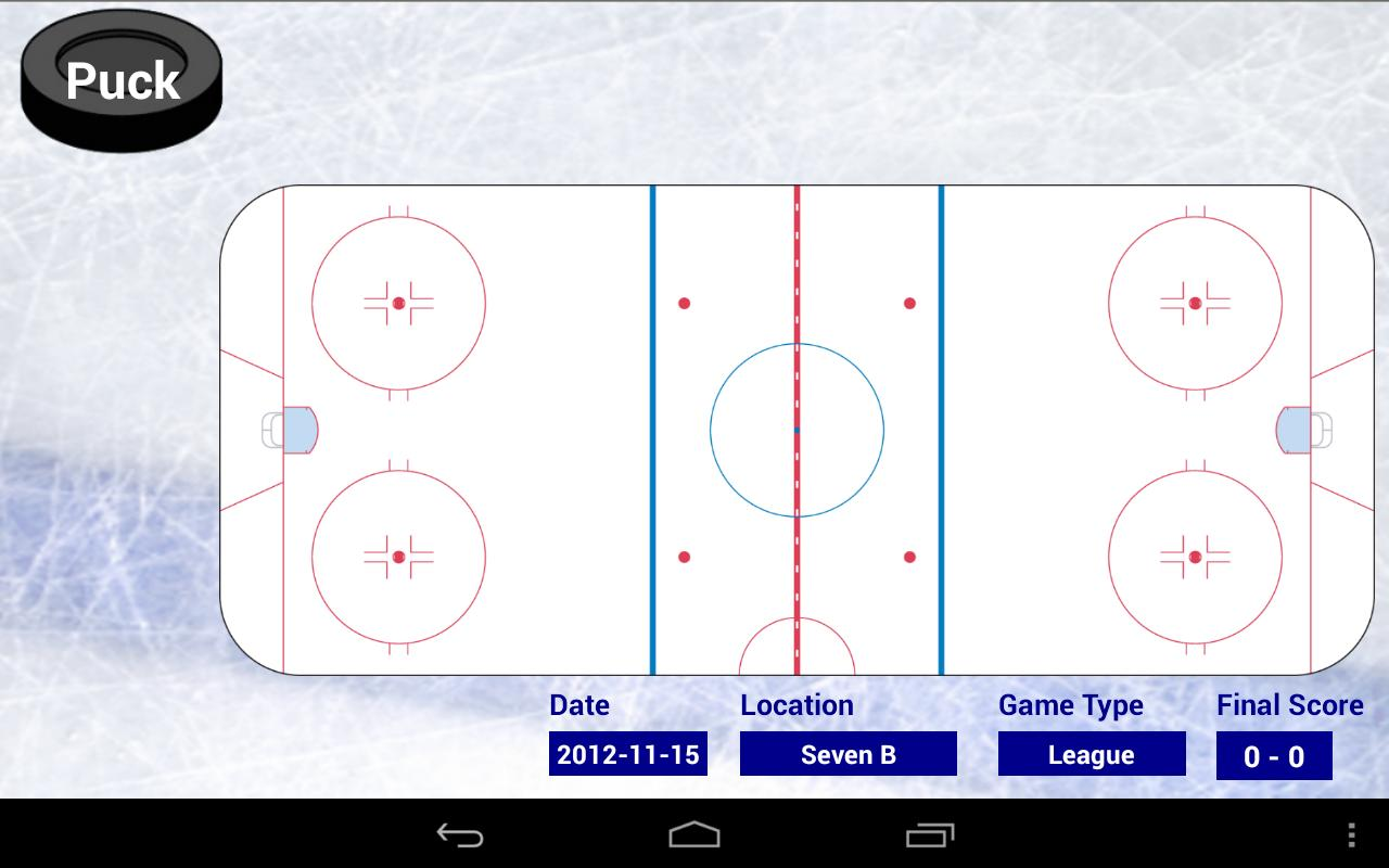 Blueline Stats for Hockey - screenshot