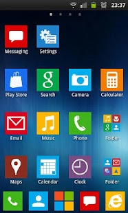 GO Launcher Windows 8 Theme - screenshot thumbnail