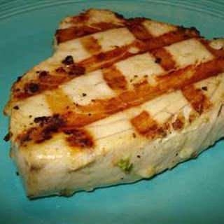 Spicy Grilled Tuna Steaks Recipe