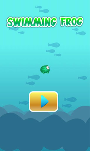 游泳的小青蛙