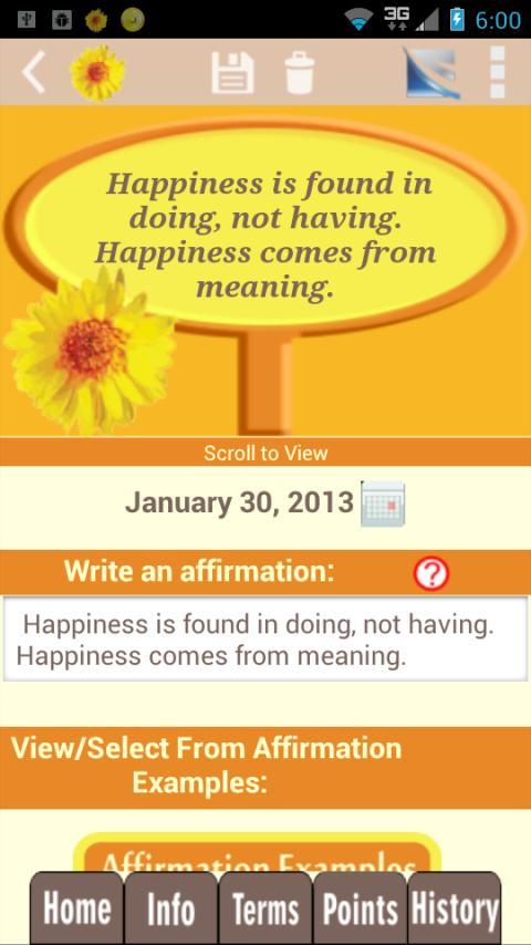 Happy Habits: Choose Happiness - screenshot