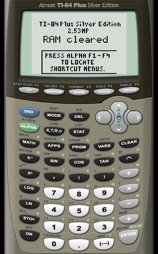 AlmostTI - TI Calc Emulator  screenshots 2