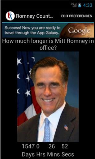 Romney Countdown