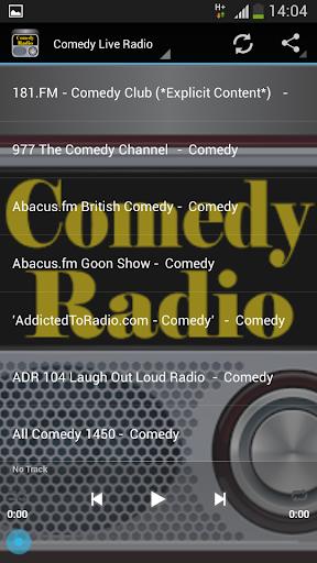 Comedy Live Radio