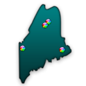 Maine Fishing Maps - 13K Maps