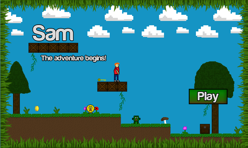 SAM Adventures - screenshot