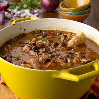 Cuban Black Bean Stew.