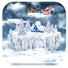 Christmas aerial beauty LWP icon