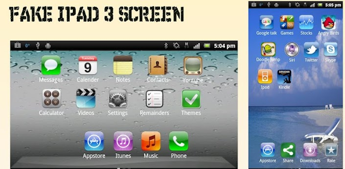 Fake iPad 3 Screen 3.0 apk