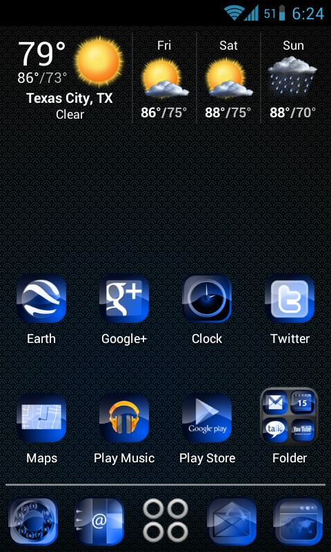 Magnetic HD Apex / Nova Theme - screenshot