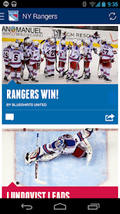 Official New York Rangers App - screenshot thumbnail