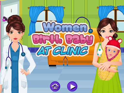 診所出生的嬰兒遊戲