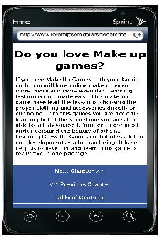 Make Up Games - screenshot