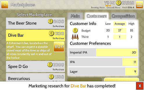 Fiz : Brewery Management Game Screenshot 12