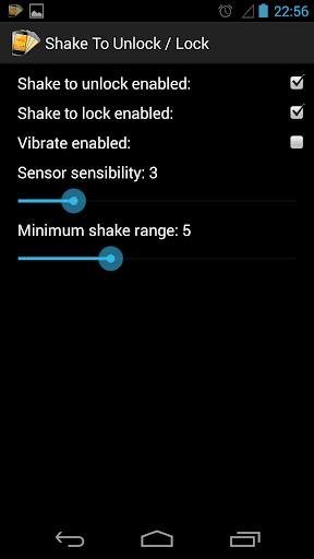 Shake Unlock