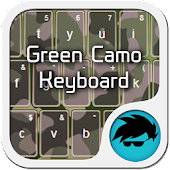 Green Camo Keyboard