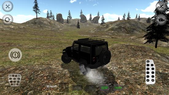 【免費賽車遊戲App】Hill Racer Offroad 4x4-APP點子
