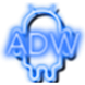 Neon Blue ADW Theme