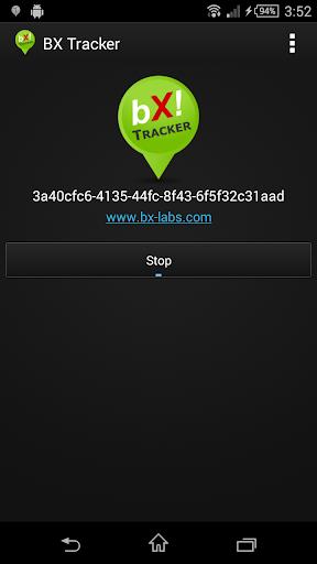 BX Tracker: location history