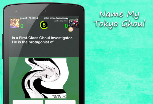 Name My Tokyo Ghoul