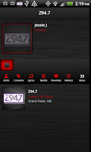 Z94.7 - screenshot thumbnail