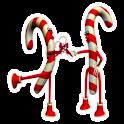 Candy cane Widget logo