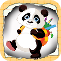 Panda Babies Fun Fun Word Free icon