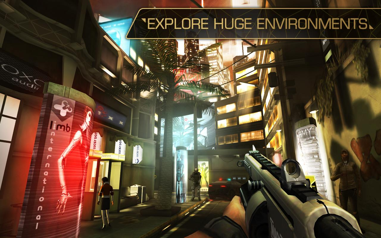 Deus Ex: The Fall screenshot #7