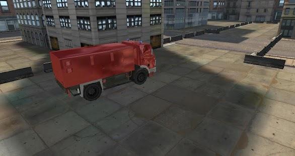 消防救援停車3D高清