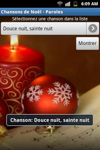 Chansons de Noël - Paroles