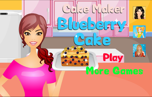 Cake Maker Blueberry Cake